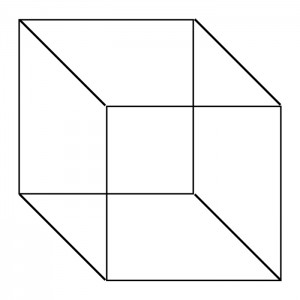 how to draw cube shape