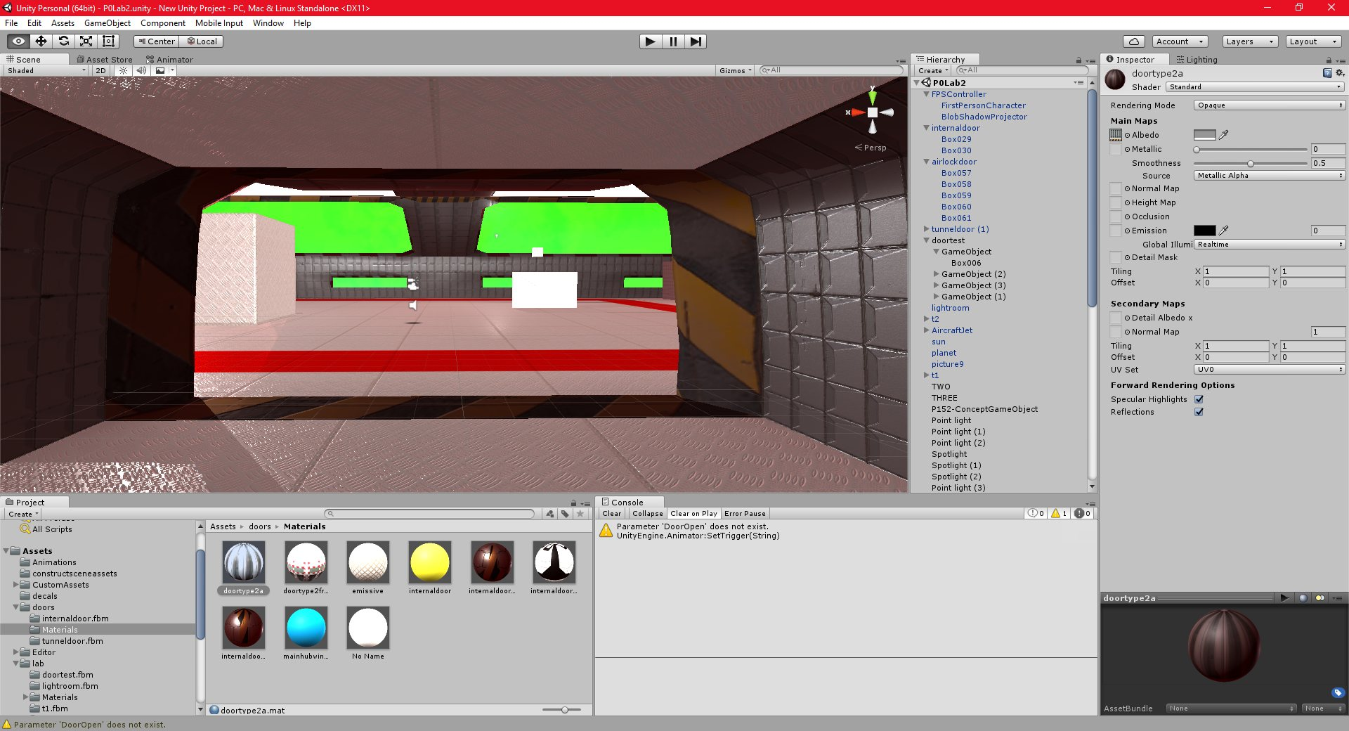 P-172: Unity: Space Environment: Part 19 - PGD Home