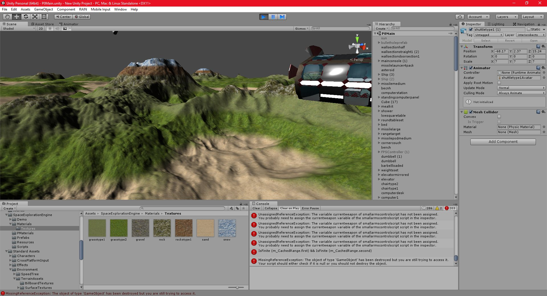 P0-P-172: Part 59: SEE: Multiple Terrain Textures with blending