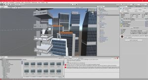 Unity 04/04/2017 , 05:31:49 PM Unity 5.5.1f1 Personal (64bit) - P0VRCity.unity - New Unity Project - PC, Mac & Linux Standalone