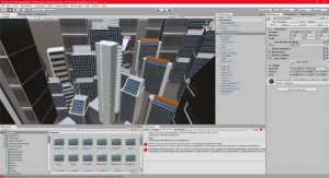 Unity 04/04/2017 , 05:31:59 PM Unity 5.5.1f1 Personal (64bit) - P0VRCity.unity - New Unity Project - PC, Mac & Linux Standalone