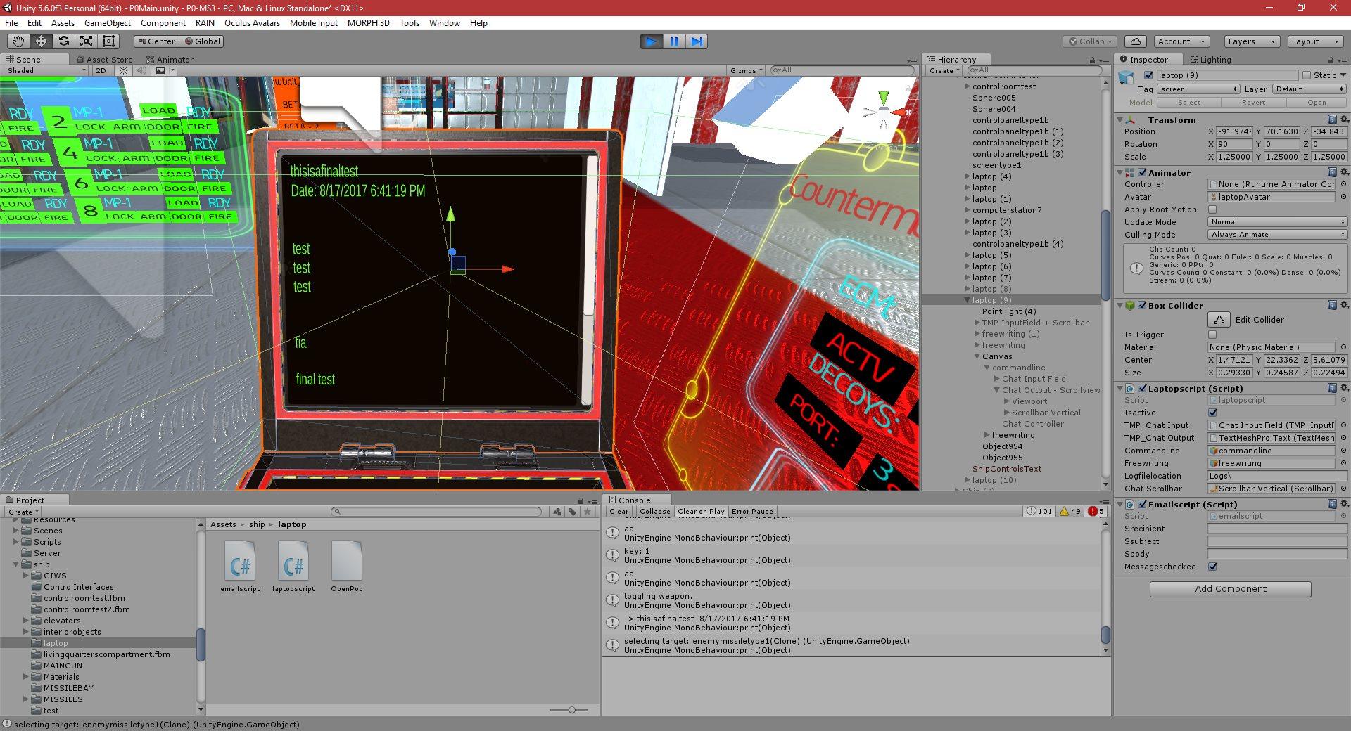P0-MS3: Part 224: Art, GUI's, Control Interfaces - PGD Home