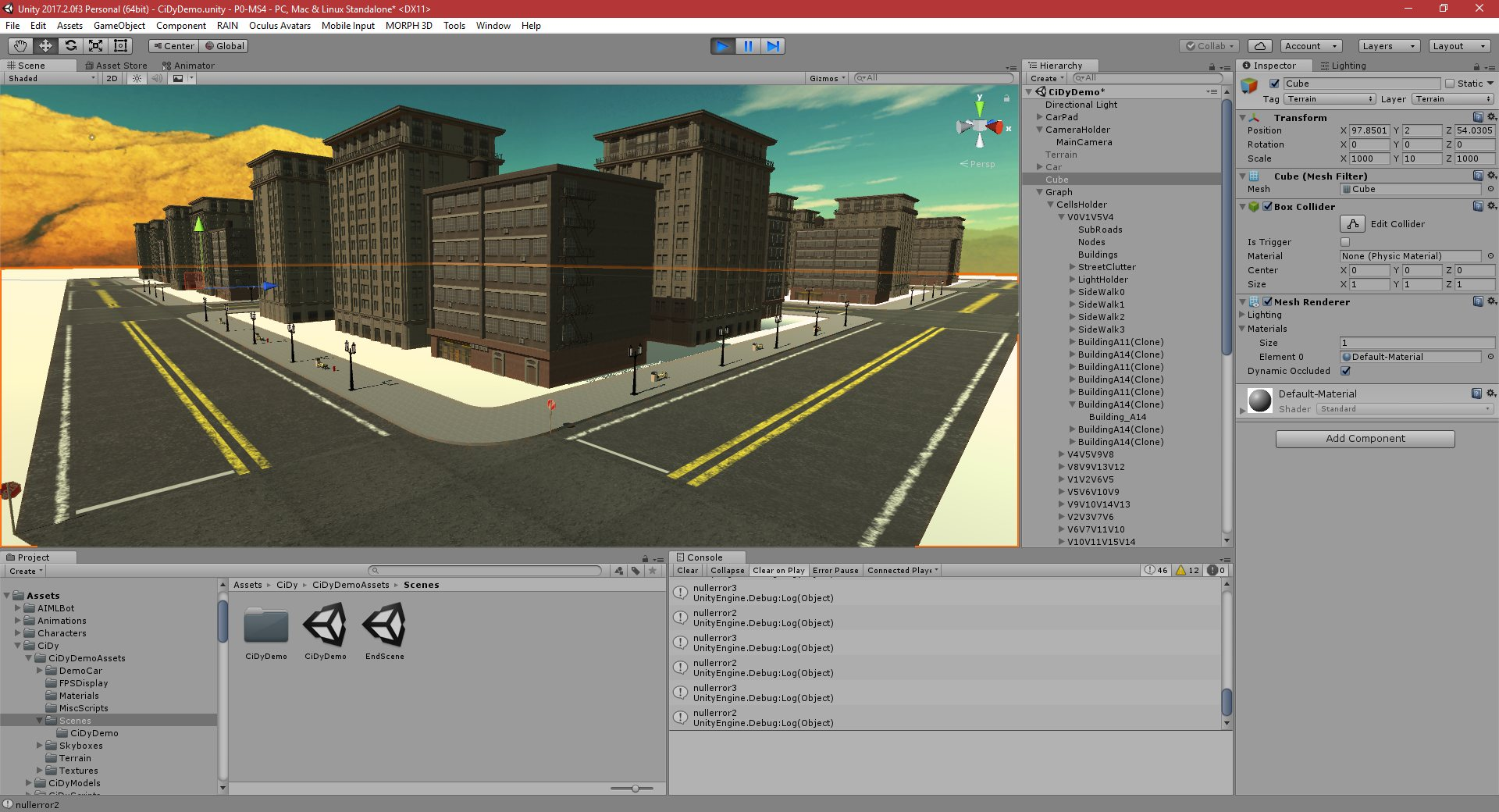 P0-MS5: Part 301: City Simulator - PGD Home