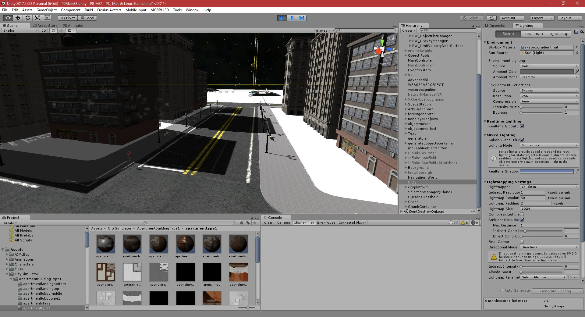 P0-MS5: Part 305: City Simulator - PGD Home