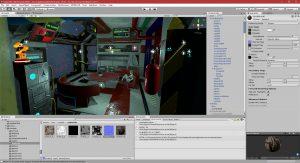 Unity 20/07/2018 , 01:52:27 AM Unity 2018.1.0f2 Personal (64bit) - artconcepttest5realtimeFinal.unity - P0-A1 - PC, Mac & Linux Standalone