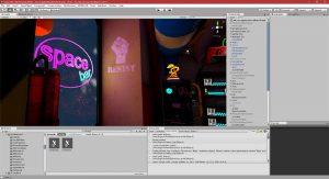 Unity 24/07/2018 , 04:43:09 AM Unity 2018.1.0f2 Personal (64bit) - artconcepttest9realtimeFinal.unity - P0-A1 - PC, Mac & Linux Standalone