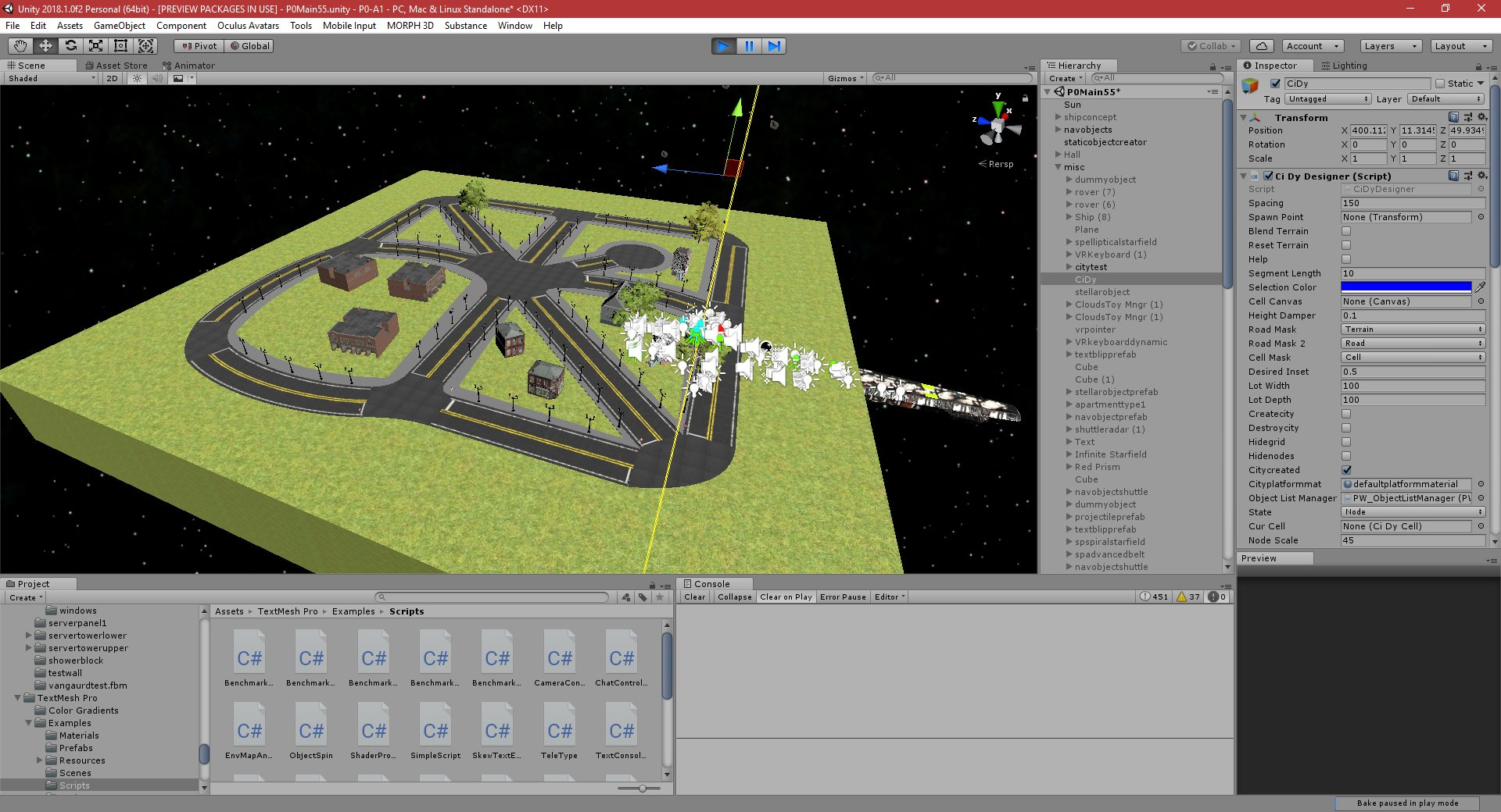 P0-A2: Part 441: Unity 2018 2 Port - PGD Home